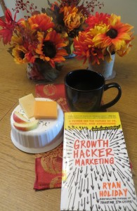 Good Wisconsin cheese, local coffee and a new book.  I almost put my ski boots in the picture but thought that would be weird.  Not weirder than riding in a roast turkey, though.